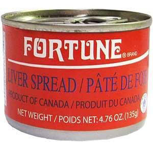 Pate đóng hộp Fortune (135g)