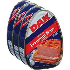 Thịt hộp Dak (3 hộp/ lốc)
