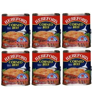 Thịt bò nướng với sôt thịt Hereford 340g (lốc 6)