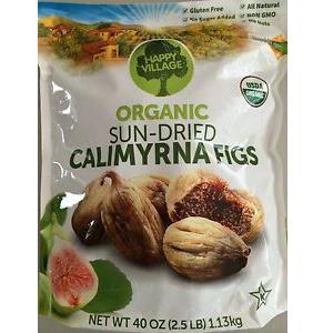 Trái sung tây khô Organic Sun - Dried Calimyrna Figs (1.13kg/ bịch)