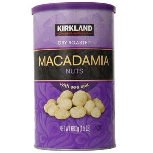 Hạt Macadamia rang muối Kirkland (680g/ hộp)