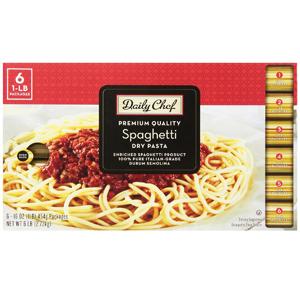 Mỳ Spagetti Daily Chef (6 bịch/ lốc)