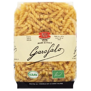 Nui organic Garofalo cọng xoắn (500g/ bịch)