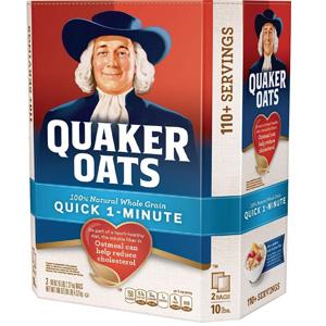 Bột yến mạch Quaker 1 Minute (4.52kg/ thùng)