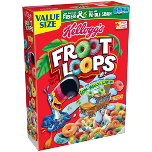 Ngũ cốc ăn sáng Froot Loops (1.24kg/ hộp)
