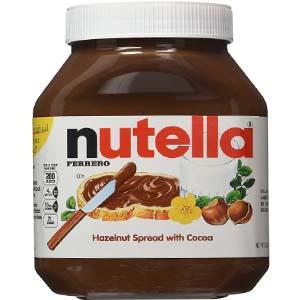 Bơ cacao hạt dẻ Nutella (950g/ hủ)