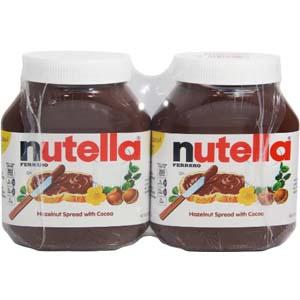 Bơ cacao hạt dẻ Nutella 950g (Lốc 2)