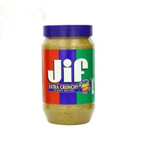 Bơ đậu phọng JIF Crunchy (1.36 kg/ hủ)