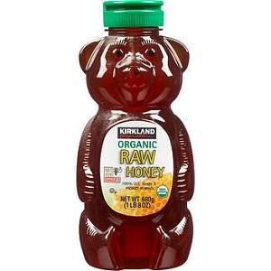 Mật ong con gấu Kirkland Raw Honey (680g/ chai)