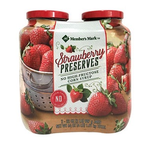 Mứt dâu strawberry Member