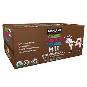 Sữa tươi chocolate reduced fat Kirkland (Thùng 24)