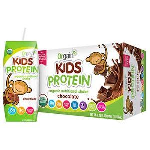 Thực phẩm bổ sung dinh dưỡng Orgain kids protein (Lốc 18)