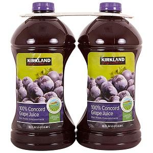 Nước ép nho Kirkland 2.83L (Lốc 2)