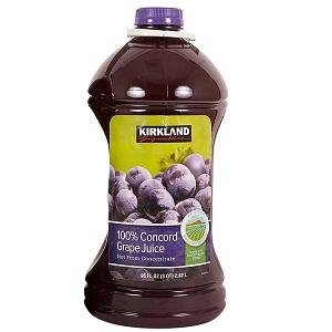 Nước ép nho Kirkland (2.83L/ chai)
