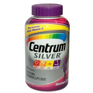 TPCN dành cho nữ Centrum Silver trên 50 tuổi (250 viên/ chai)
