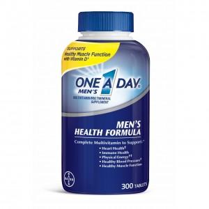Thực phẩm bổ sung Multivitamine cho Nam dưới 50 tuổi One A Day Men (300 viên/ chai)