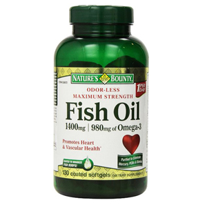 Thực phẩm bổ sung Omega-3 Nature