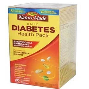 TPCN bổ sung vitamin và khoáng chất cho người bị bệnh tiểu đường (60 gói/ hộp)