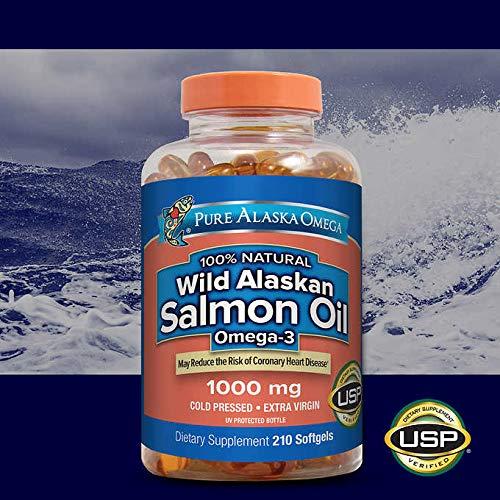 Thực phẩm bổ sung dầu cá Omega-3 Alaskan (210 viên/ chai)
