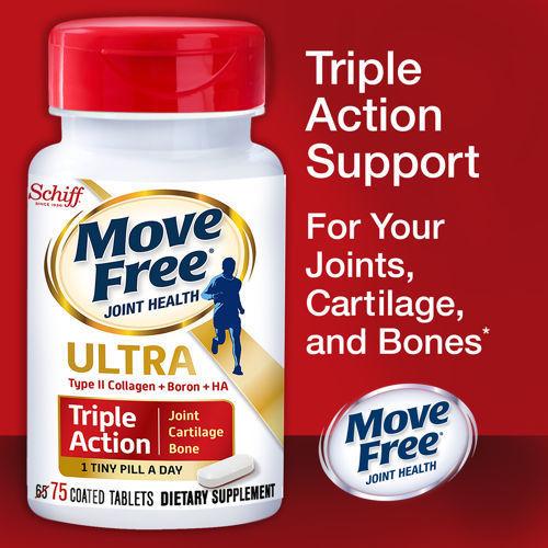 Thực phẩm bổ sung Schiff Move Free joint health (75 viên/ chai)