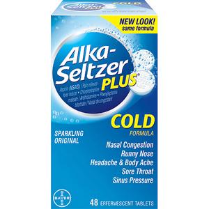 Viên sủi chống cảm Alka seltzer (72 viên/ hộp)