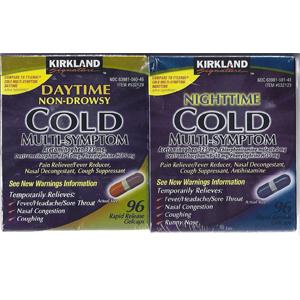 Thuốc giảm đau hạ sốt Cold Kirkland hộp lẻ