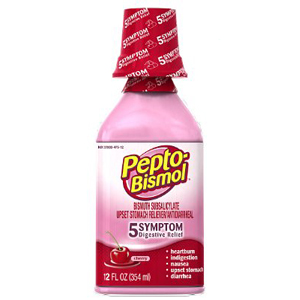 Thuốc đau bụng Pepto dạng nước (354ml/ chai)