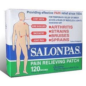Cao dán giảm đau Salonpas (20 miếng/ bịch)