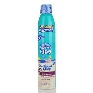 Xịt chống nắng Coppertone kids SPF50 (222ml/ chai)