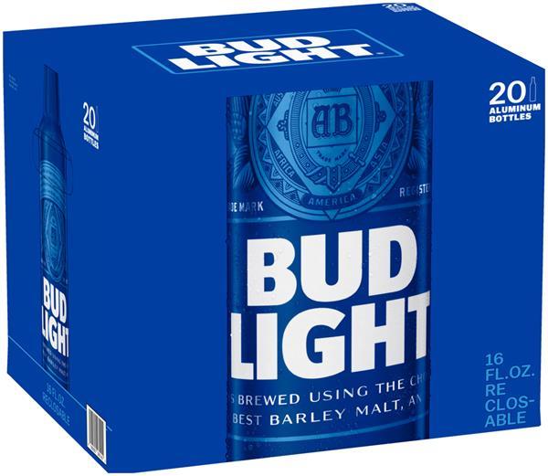 Bia Bud Light Nhập Khẩu Mỹ - Thùng 24 chai 473ml