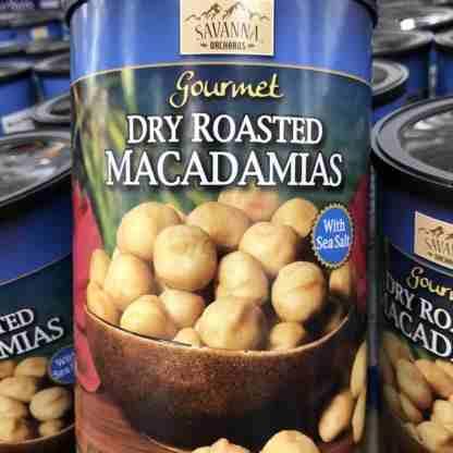 Hạt Macadamia rang muối Savanna (680g/ hộp)