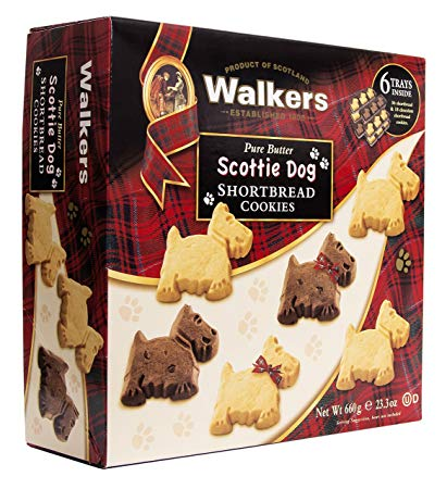 Bánh quy Walker Scottie Dog 660g