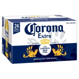 Bia Corona Extra Mexico Nhập Khẩu Mỹ - Thùng 24 chai