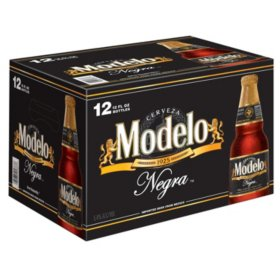 Bia Modelo Negra - Thùng 12 chai.