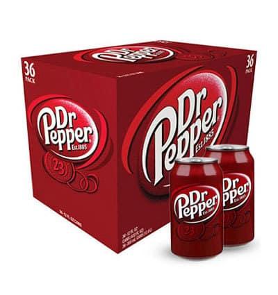 Nước ngọt Dr Pepper (36 lon/ thùng)
