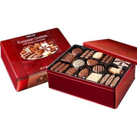 Bánh Quy Kirkland Signature Belgian Chocolate 15 loại , 1.4kg