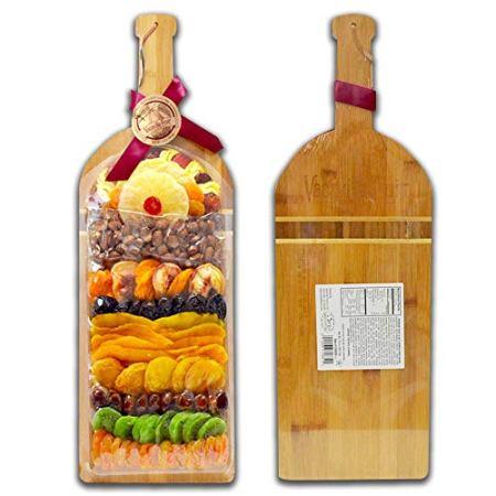 Hạt & Trái Cây Sấy Khô Vacaville Nhập Khẩu - Khay Chai Rượu