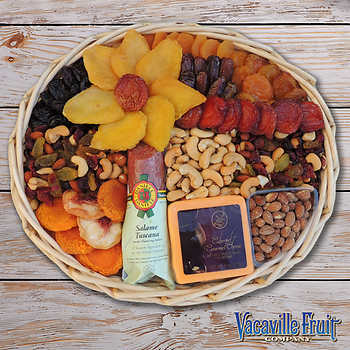 Hạt & Trái Cây Sấy Khô Vacaville Nhập Khẩu - Khay Tròn