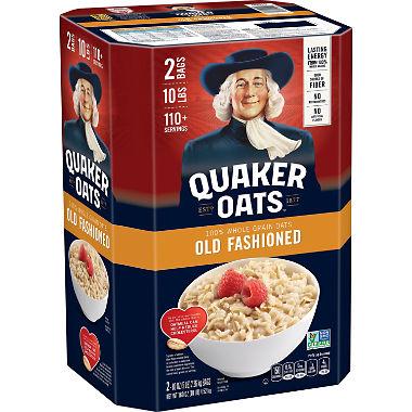 Bột yến mạch Quaker Old Fashioned (4.52Kg/ thùng)