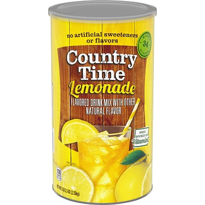 Bột Chanh Country Time Lemonade 2,33kg