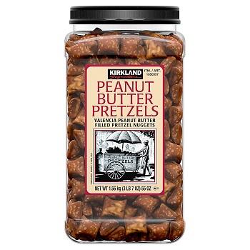 Bánh bơ đậu phông Kirkland Pretzels 1,56kg