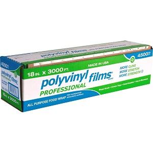 Màng bọc Polyvinyl films Professional 18in x 3000ft