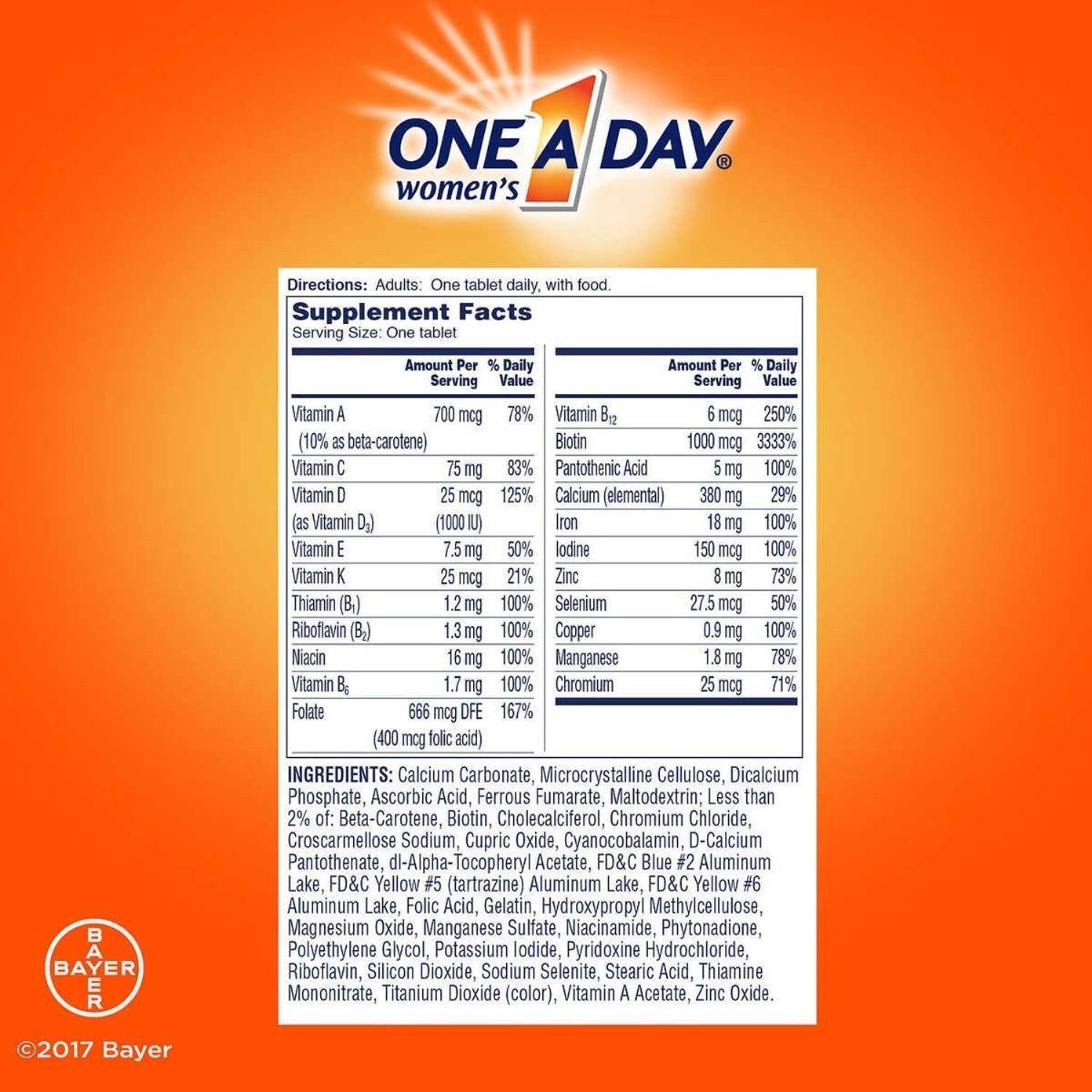 Kết quả hình ảnh cho thuốc one a day women's formula